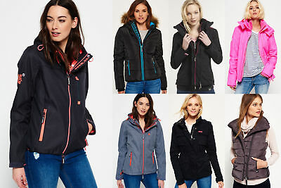 New Womens Superdry Jackets Selection - Various Styles & Colours 0712 1