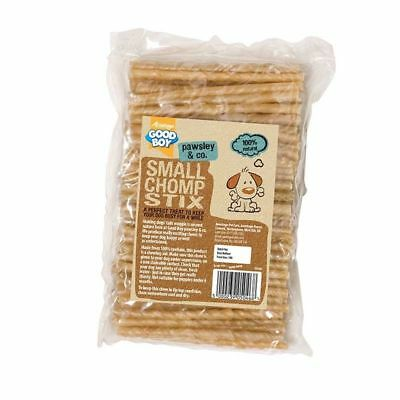 Pack of 100 Armitage Good Boy Rawhide Twist Chomp Stix Dog Treats 3 Sizes S M L