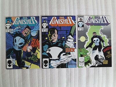 The Punisher 4 5 6 - Volume 1 - Marvel Comics
