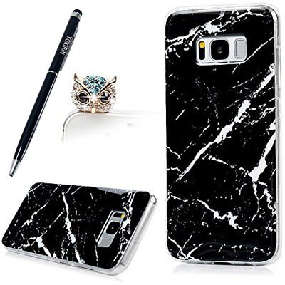 Mobility & Daily Living Aids Galaxy S8 Plus Case, Black Marble Slim-Fit Shock