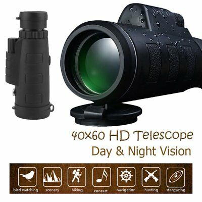 Day & Night Vision HD 40X60 Optical Zoom Travel Telescope Camera Lens w/ Clip HS