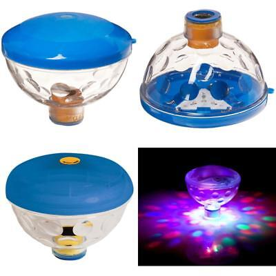 Pool Swimming Light Show Underwater Led Disco Spa Pond Tub Floating Aquaglow .
