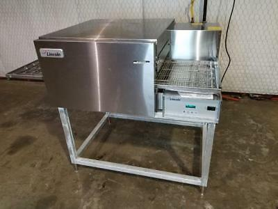 Lincoln Impinger 1116 Single Stack Nat.gas Conveyor Pizza Oven.....video Demo