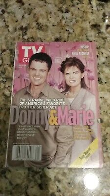 Donny and Marie Osmond TV Guide May 2000