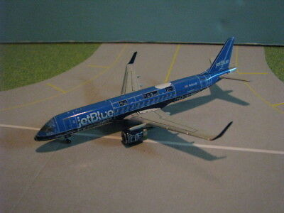 "Gemini Jets Jetblue ""blueprint"" Erj-190 1:400 Scale Diecast Metal Model"