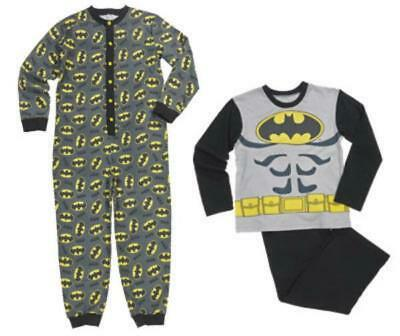 Bnwt New & Official Boys Batman 2 Pack Pyjamas & All In One Set Age 8/9 Years 7