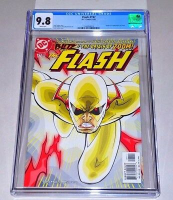 Flash 197 CGC 9.8 White Pages