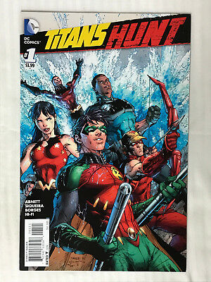 Titans Hunt #1 - 1:25 Variant! VF - Jim Lee Cover! Auction 2