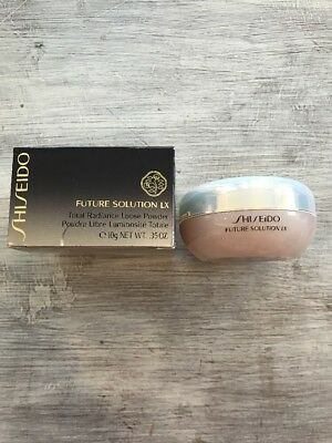 SHISEIDO FUTURE SOLUTION LX TOTAL RADIANCE LOOSE POWDER .35 oz (10g) NEW, BOXED