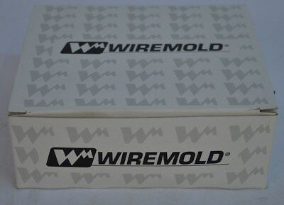 Lot of 10 Boxes Each 10 NEW Wiremold Gray Duplex Outlet Faceplates 5507D-G