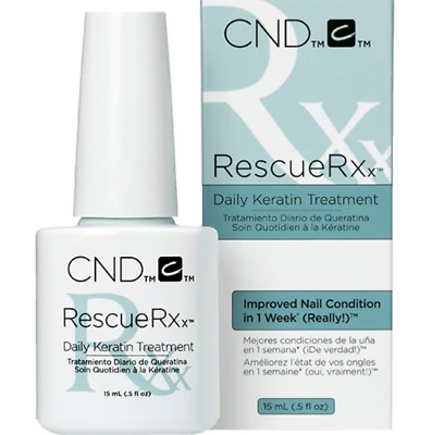 CND RescueRXx Intensive Daily Keratin Cuticle Treatment Oil - 15ml / 0.5oz