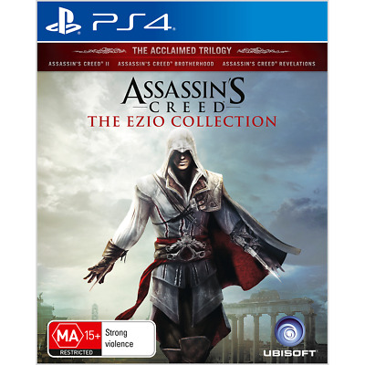 Assassin's Creed The Ezio Collection - PlayStation 4 - BRAND NEW