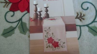 2 Felt Christmas Table Runners Kits 4 50 Picclick