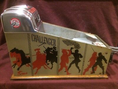 "ABT MFG.CO CHALLENGER  1 Cent SHOOTING GALLERY Penny Arcade ""GOOD CONDITION"""