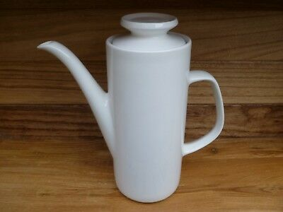 J & G MEAKIN  - VINTAGE STUDIO POTTERY COFFEE POT WITH LID - 1.25 Ltr CAPACITY