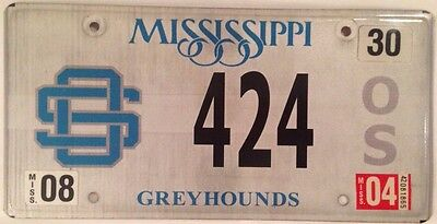 PALINDROME Greyhounds #424 license plate Greyhound Race Dog Racing Dogs Puppy