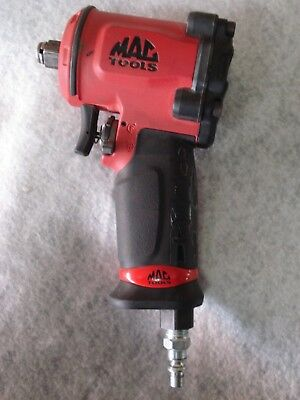 """MAC Tools AWP050 1/2"""" Drive Air Pneumatic Impact Wrench 6500 RPM Used Tested"""