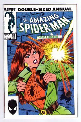 Amazing Spider-Man Annual #19 1st Appearance of Alistair Smythe NM 9.4