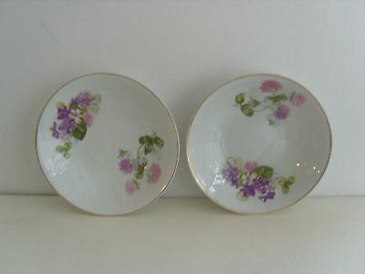 Antique 1900'S J & G Meakin China Tea Cup Saucers X2