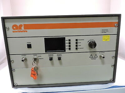 Amplifier Research 800A3 Mid Power RF CW Amplifier.  10 kHz to 3MHz, 800 Watts