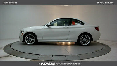 2017 BMW 2 Series 230i 230i 2 Series 2 dr Coupe Automatic Gasoline 2.0L 4 Cyl Alpine White
