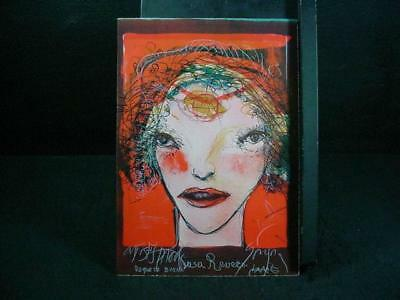"NobleSpirit {3970} Signed Artist Proof Leonel Gongora ""Portrait of Woman"
