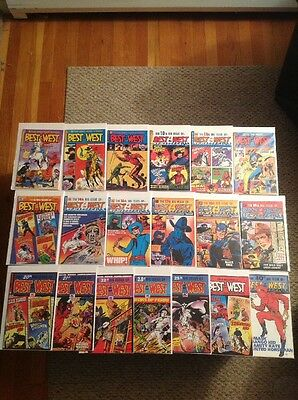 BEST OF THE WEST (AC Comics 1999-2004) HIGH GRADE Lot Of 19! FREE SHIPPING! NM-