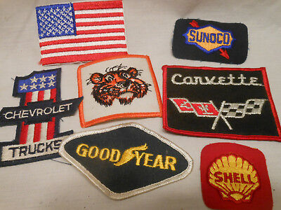 Lot of Gas Station & Misc Patches /Shell Sunoco Exxon Goodyear Corvette USA
