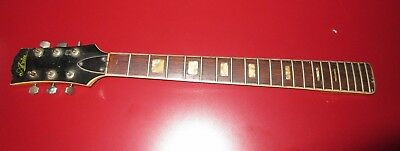 Vintage Aria 6 String Guitar Neck With Tuners