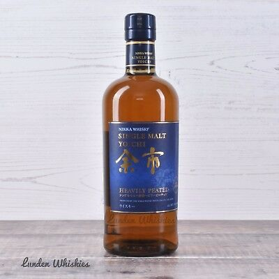 Nikka Yoichi 'Heavily Peated' Single Malt Japanese Whisky Extremely Rare Release