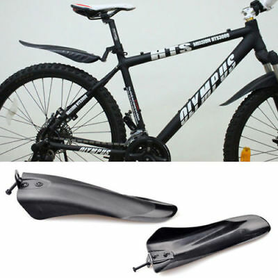 New Cycling Bicycle Bike Mountain Front Rear Mud Guards Mudguard Fenders Set HC