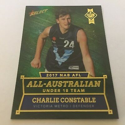 2017 Future Force - All-Australian - AA4 Charlie Constable - Geelong Cats