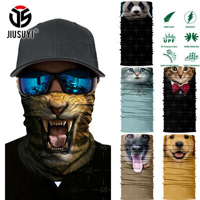 3D Animal Ski Cycling Scarf Neck Warmer Face Mask Balaclava Bandana Gift