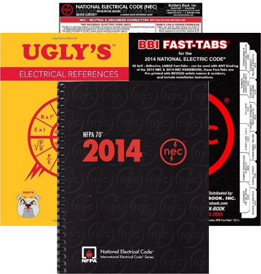 NFPA 70 2014 : National Electrical Code (NEC) Spiralbound, 2014 Edition, Package