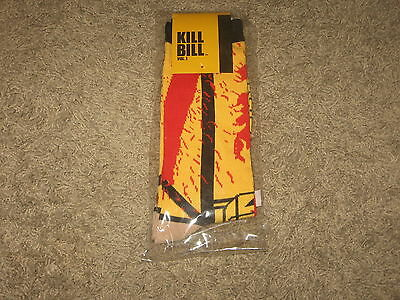 Loot Crate Exclusive KILL BILL VOL.1 SOCKS Mens Crew Pair One Size Brand New