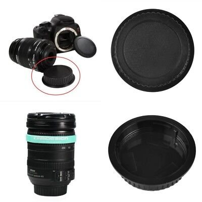 Hot Sale Black Universal DSLR Camera Rear Lens Cap Cover For Canon Wholesale