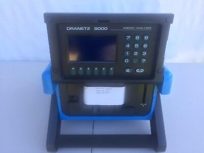 "Dranetz 8000 Energy Analyzer ""excellent Conditions"""
