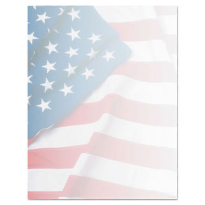 Geographics Flag Design Paper, 8.5 x 11 Inches, Design, 100-Sheet Pack (46880S)