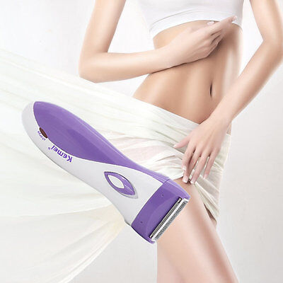 New Women Lady's Electric Rechargeable Hair Shaver Epilator Waterproof OZ