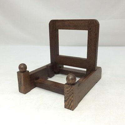 D864: Japanese wooden stand for plate or bowl made from popular TAGAYASAN  1