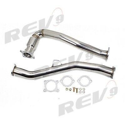 """for MK7 GTI 15-18 2.0T Rev9 DP-230 Turbo Downpipe Stainless Steel 3/"""" OD PIPE"""
