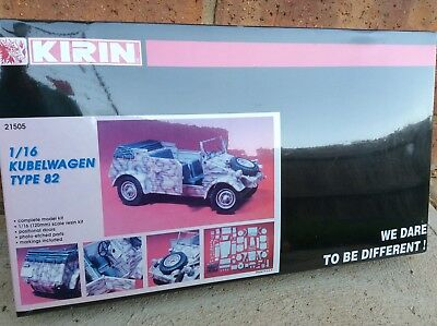 Kirin 1/16 Resin Kubelwagen Kit.long Out Of Production.usa Made.new And Sealed