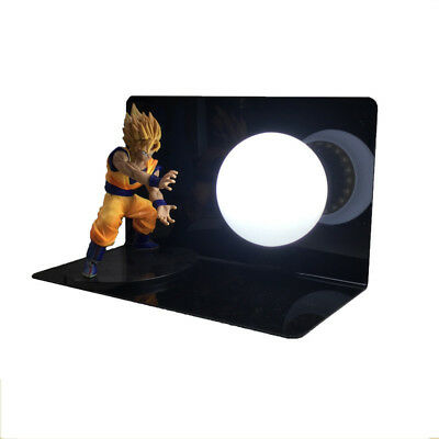 Dragon Ball Son Goku Spirit Bombs Table Lamp Luminaria LED Night Lights
