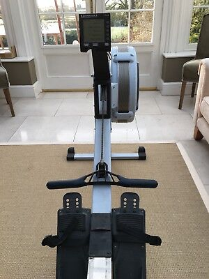 Concept 2 Model D Indoor Rowing Machine with PM5 Black. Used.