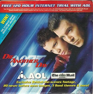James Bond 007 DIE ANOTHER DAY  - Rare AOL CD-Rom Behind the scenes footage etc.