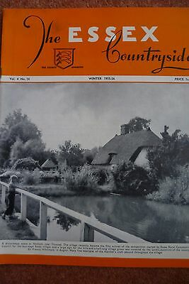 Essex Countryside Vol 4 No 14 Winter 1955-56 Othona Chigwell Vicar Gt Clacton
