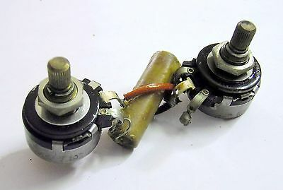 1952 Gibson Wiring Harness 500k Grey Tiger- Les Paul Lapsteel BR6 ES295 Super400