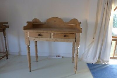 Antique Pine Washstand Dipped and stripped
