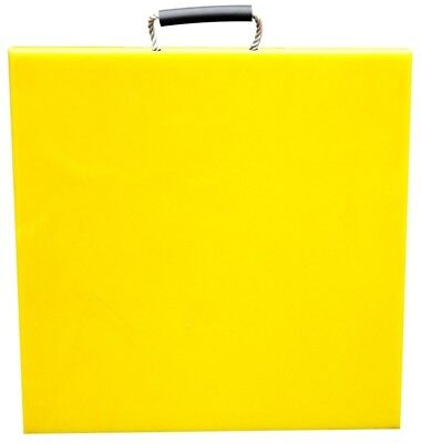 400x400x40 Yellow Outrigger/Crane Pads
