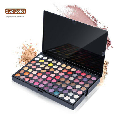 Professional 252 color Eyeshadow Palette Pigment Eye Shadow Palettes Make up